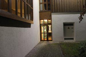 Eingang Schützenheim